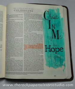 Bible Journaling, Illustrated Faith
