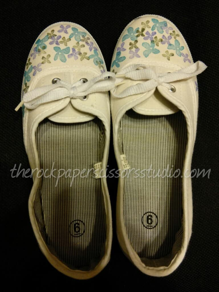 Stamping on Shoes